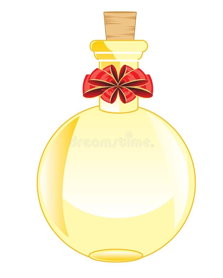 Rond flesje royalty-vrije illustratie
