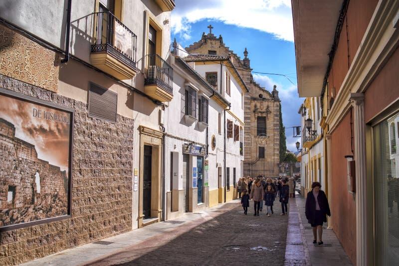 Ronda, église du Saint-Esprit, Andalousie, Espagne photographie stock