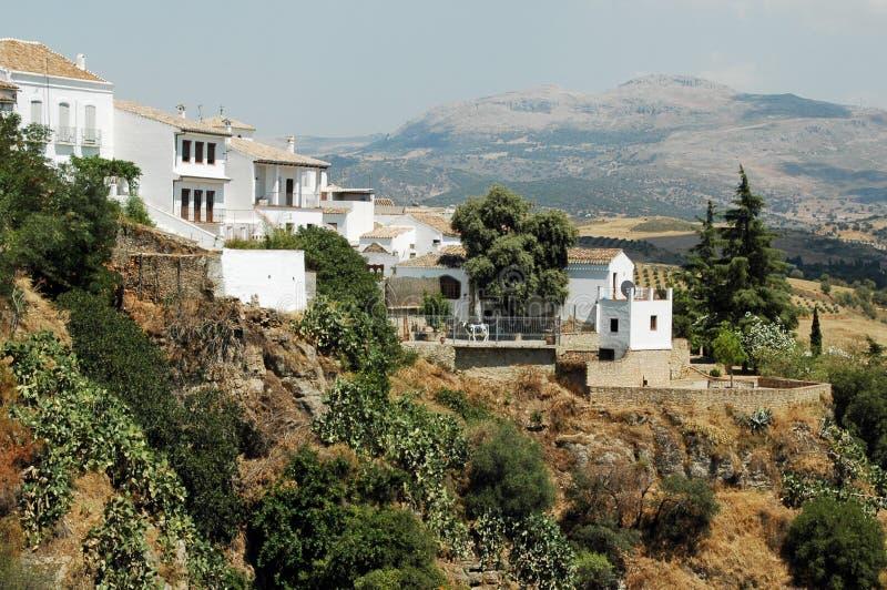 Ronda, Ανδαλουσία, Ισπανία στοκ φωτογραφία με δικαίωμα ελεύθερης χρήσης