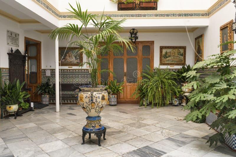 Ronda Ανδαλουσία: σπίτι στοκ φωτογραφία με δικαίωμα ελεύθερης χρήσης