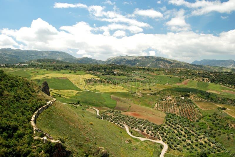 ronda βουνών de grazalema οροσειρά στοκ φωτογραφία με δικαίωμα ελεύθερης χρήσης