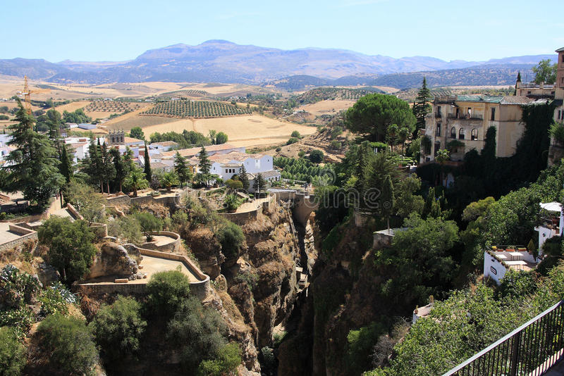 Download Ronda stock photo. Image of aqueduct, valley, central - 10470568