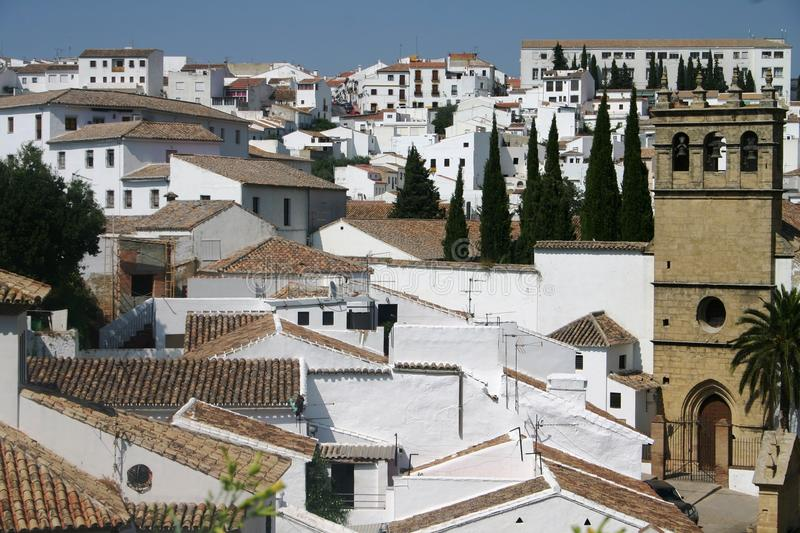Ronda in Andalucia royalty free stock photo