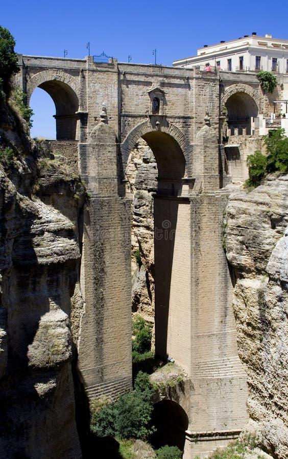 Ronda-Brücke stockbilder