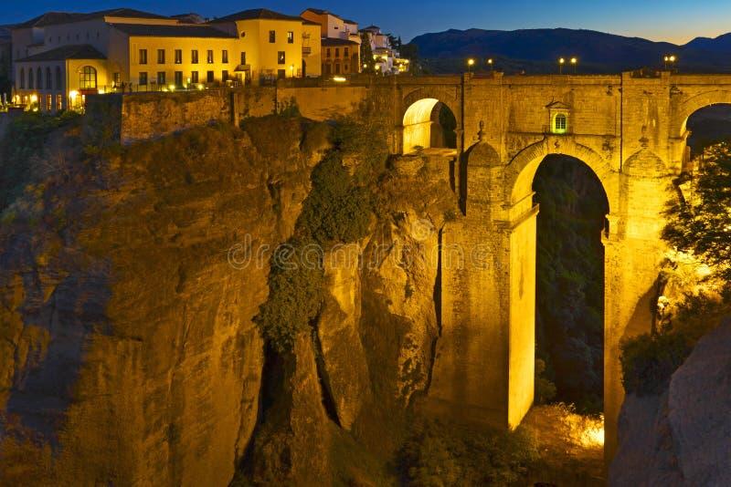 Ronda Bridge fotografia stock libera da diritti