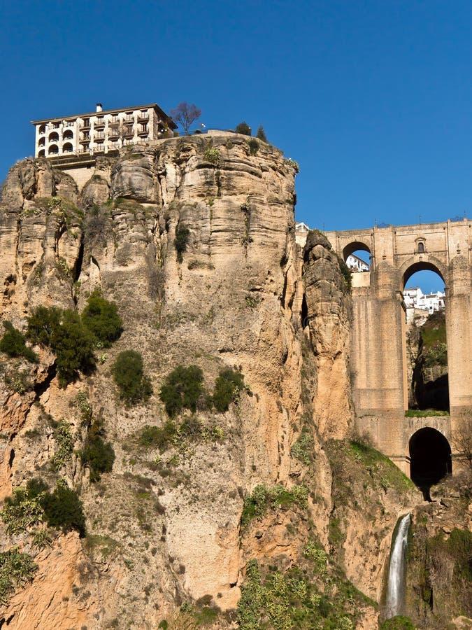 Download Ronda Bridge And Tajo Gorge, Spain Stock Image - Image: 23693969