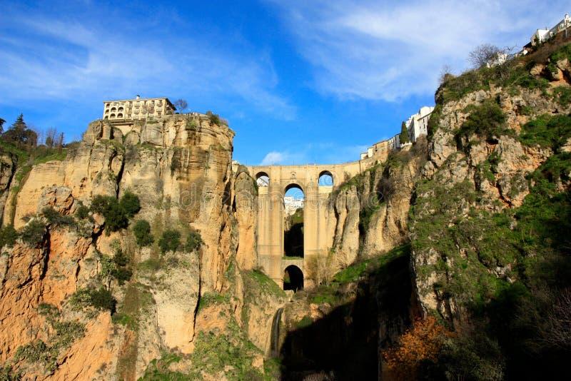 Ronda brug, Andalusia, Spanje royalty-vrije stock fotografie