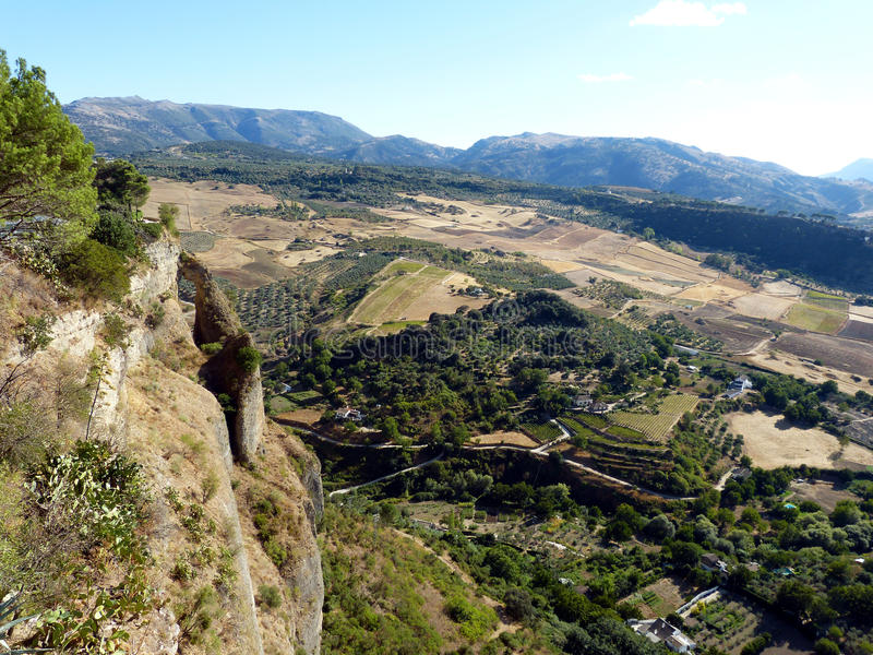 Ronda: canion Gr Taag 7 royalty-vrije stock afbeelding