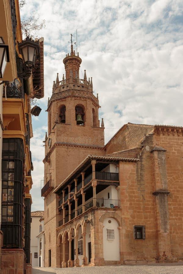 Ronda Cathedral lizenzfreies stockbild