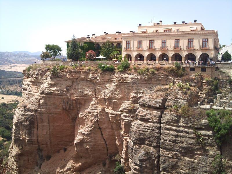 Ronda City Spain stock afbeelding