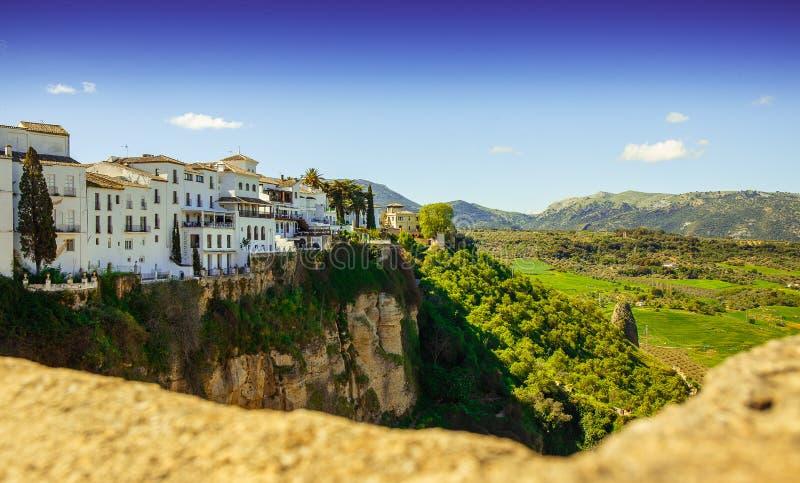 Ronda, Malaga, Spagna fotografia stock libera da diritti
