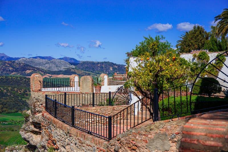 Ronda, Malaga, Spanje stock afbeelding