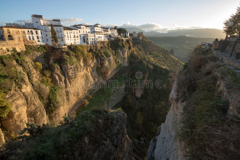 Ronda, Malaga, Spanje royalty-vrije stock foto's