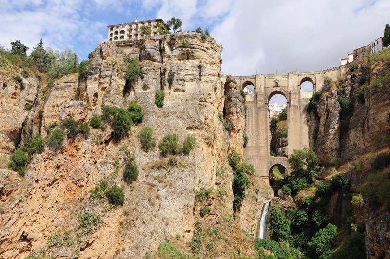 Ronda most, Andalusia, Hiszpania. zdjęcia stock