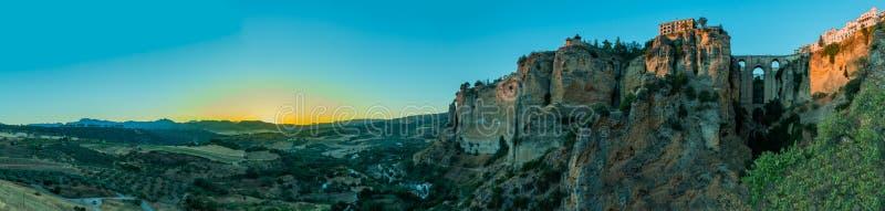 Ronda Panorama I royalty-vrije stock fotografie
