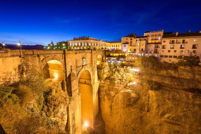 Ronda Spain Bridge royalty-vrije stock fotografie