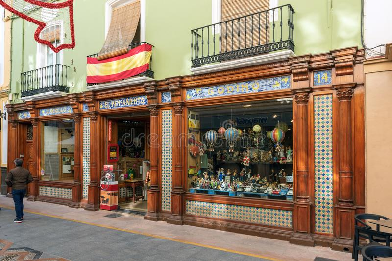 Download Spanish Toy Store Exterior. Editorial Stock Photo   Image Of  Holidays, Color: