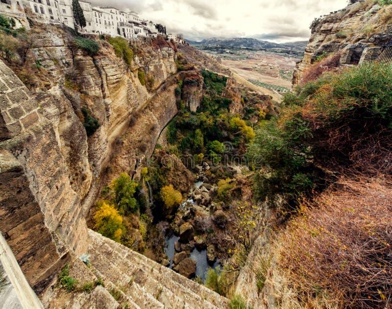 Ronda. Spanje stock foto's