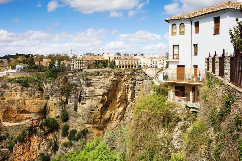 Ronda Stad in Spanje royalty-vrije stock foto's