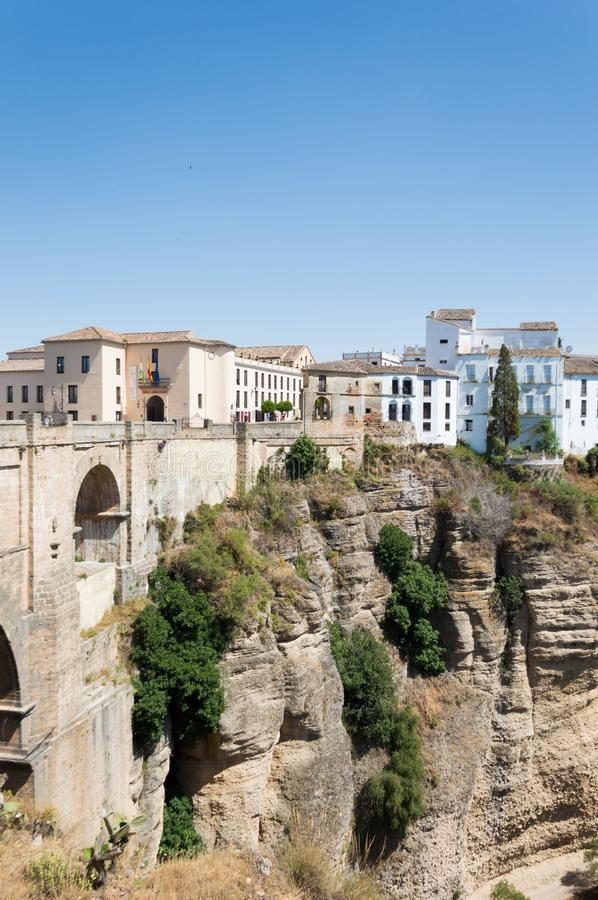 Ronda town travel in Andalusia Spain Europe royalty free stock photo