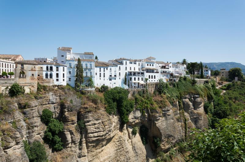 Ronda town travel in Andalusia Spain Europe stock photos
