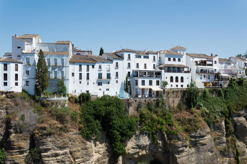 Ronda town travel in Andalusia Spain Europe stock image