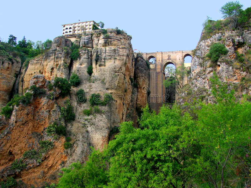 Ronda view stock images