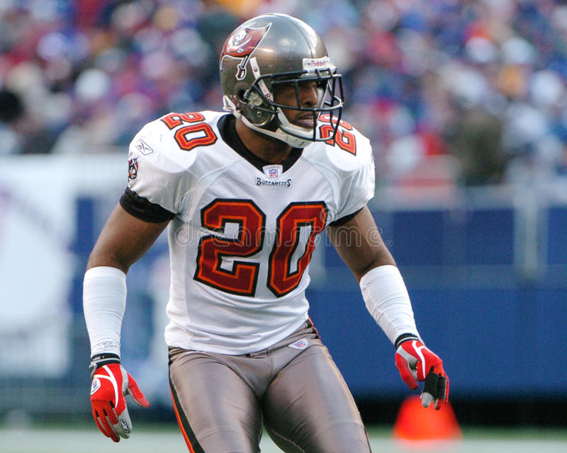 Ronde Barber, Tampa Bay Buccaneers. Tampa Bay Buccaneers DB Ronde Barber. (Image taken from color slide royalty free stock photography