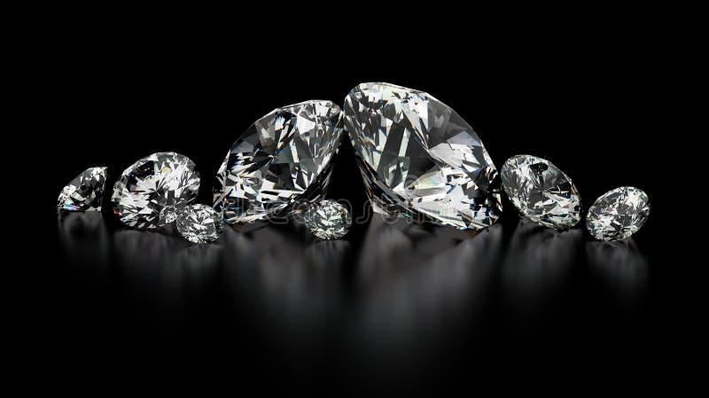 Diamanten vector illustratie