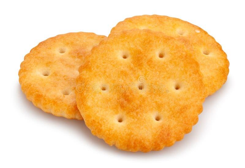 Ronde Cracker royalty-vrije stock afbeelding