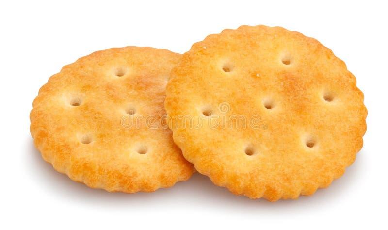 Ronde Cracker royalty-vrije stock fotografie