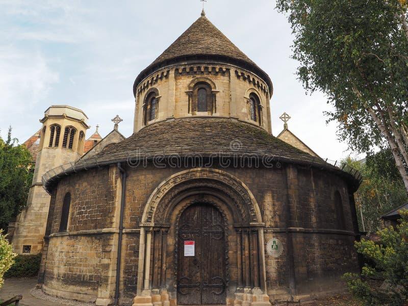 Ronde Kerk in Cambridge stock afbeelding