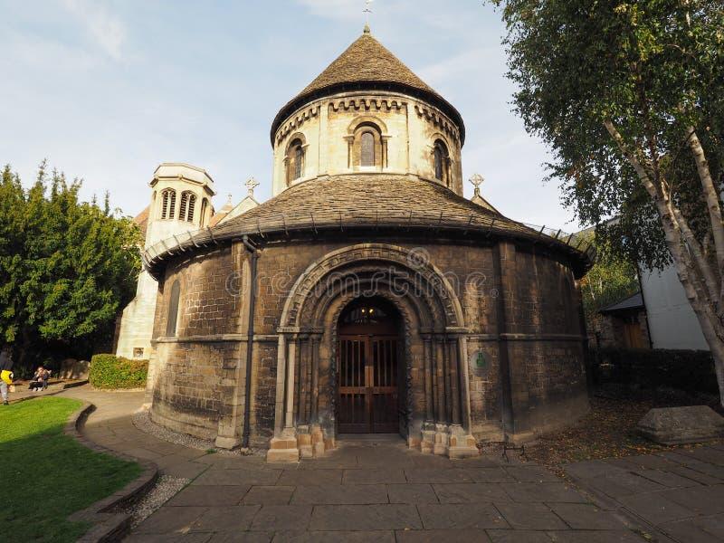 Ronde Kerk in Cambridge royalty-vrije stock afbeelding