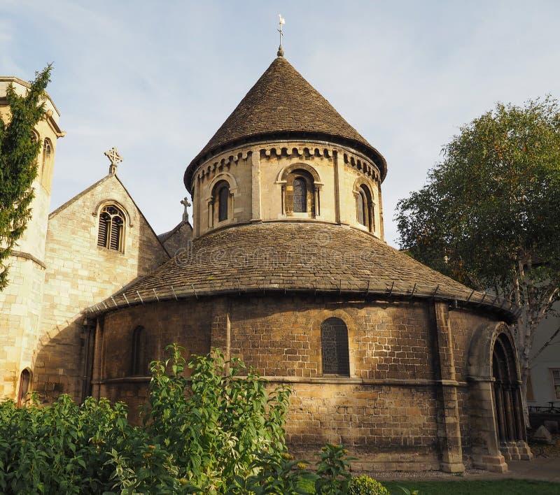 Ronde Kerk in Cambridge royalty-vrije stock fotografie