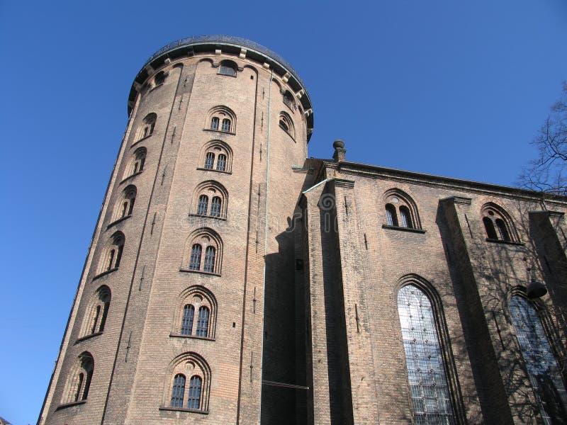 Ronde Toren van Kopenhagen royalty-vrije stock afbeeldingen