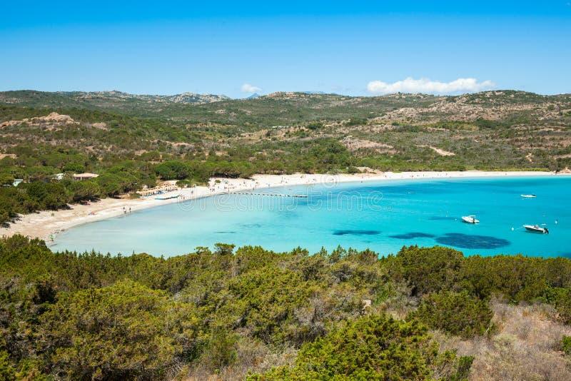 Rondinara beach in Corsica Island in France royalty free stock photos