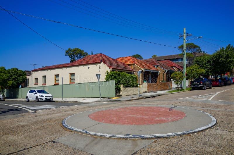 Rondo, podmiejski, Sydney, Australia zdjęcie stock