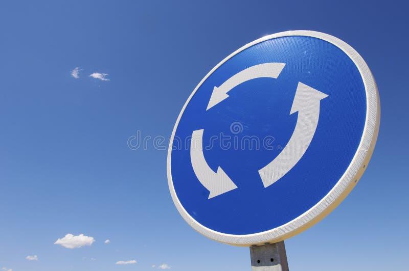 rondo sygnał zdjęcia royalty free