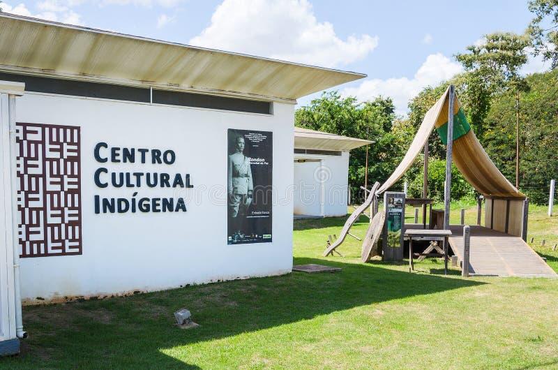 Rondon conmemorativo y Centro de Memoria Indigena foto de archivo libre de regalías