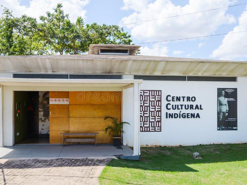 Rondon conmemorativo y Centro de Memoria Indigena fotos de archivo libres de regalías