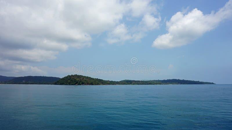 rong tropical de la KOH de la isla imagenes de archivo