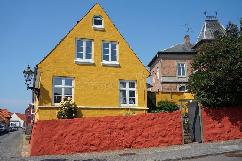Ronne, Bornholm, Dinamarca foto de stock