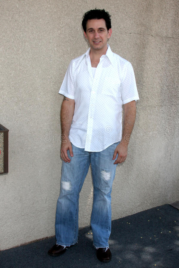 Ronnie Marmo. Arriving at the General Hospital Fan Club Luncheon at the Airtel Plaza Hotel in Van Nuys, CA on July 18, 2009 stock photo