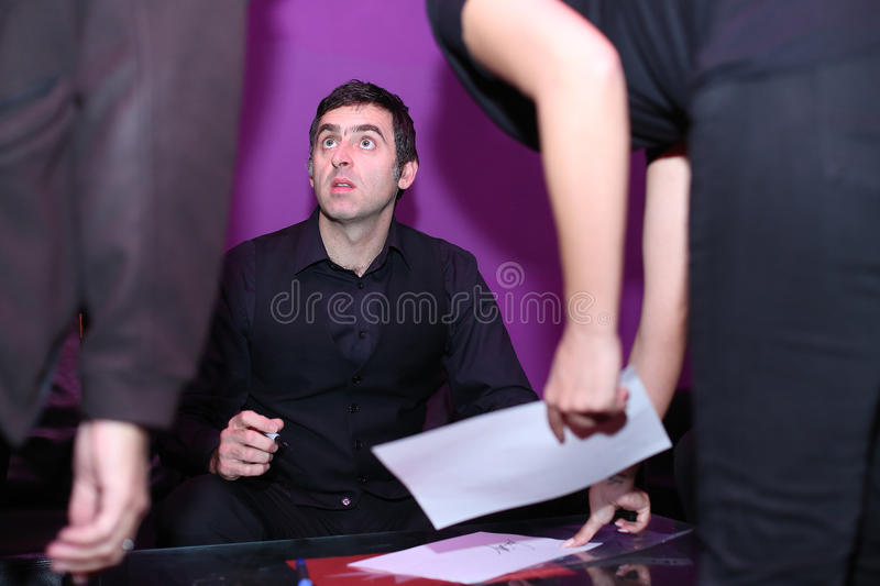 Ronnie O'sullivan fotos de stock royalty free