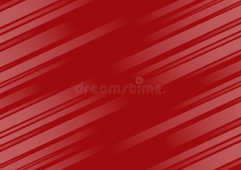 Rood achtergrond geweven diagonaal lineair behangontwerp stock illustratie