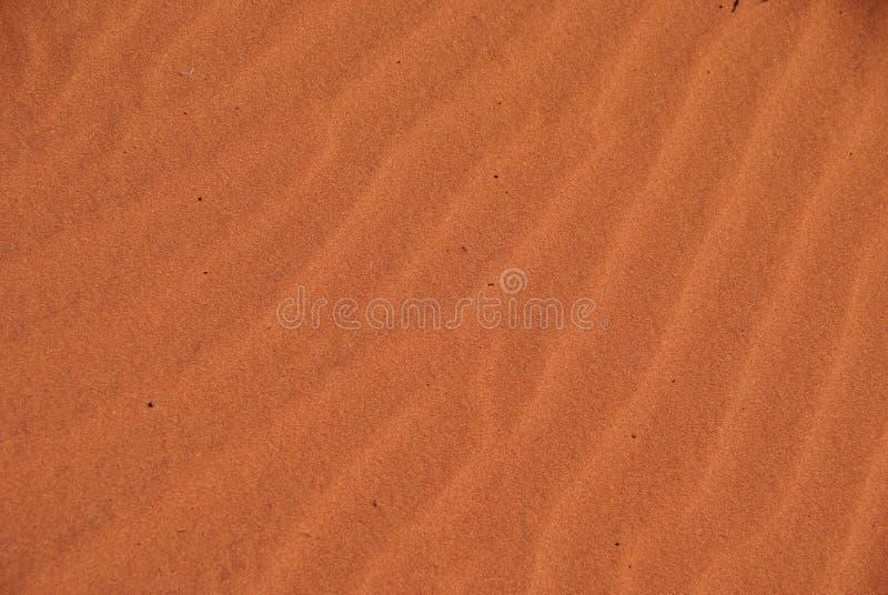 Rood Australisch Zand royalty-vrije stock afbeeldingen