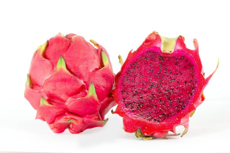 Rood draakfruit stock foto's