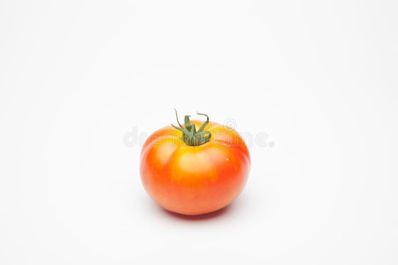 Rood en organisch tomatenhoogtepunt van aroma stock fotografie