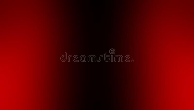 Rood en zwart vaag in de schaduw gesteld behang als achtergrond levendige kleuren vectorillustratie royalty-vrije illustratie