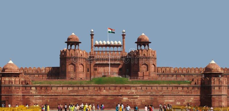 Rood Fort, New Delhi royalty-vrije stock foto's